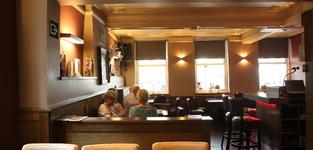 Het interieur van Brasserie De Lido